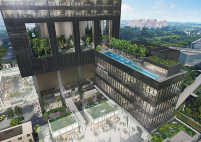 new-launch-singapore-midtown-bay-gallery-artist-impression-network-hub-singapore